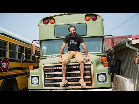 Ride Along Converted School Bus Homes – Home Makers S1E4