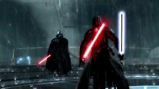 Star Wars The Force Unleashed 2 Darth Vader vs Dark Lord Starkiller