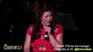 REGINE VELASQUEZ - Funny Moments (Timeless US Tour 2016 - New Jersey)