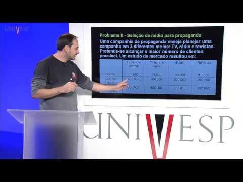 Pesquisa Operacional I - Aula 3 - Programação Linear: Modelagem Algébrica (parte 1)