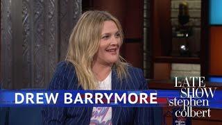 Drew Barrymore Recalls Flashing David Letterman