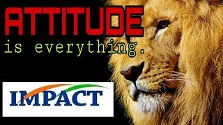 Attitude is everything | Best Motivational videos | by Ramtenki Rajababu | IMPACT | 2018