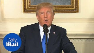 President Trump strikes blow against Iran nuclear deal - Daily Mail