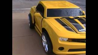 The Most Amazing Bumblebee Transformer Costume 2012