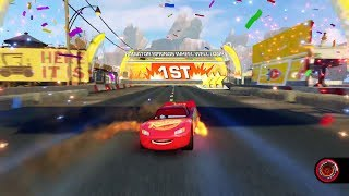 Cars 3: Driven to Win (PS4) Gameplay - Playing as Lightning McQueen (Subscriber Requests)