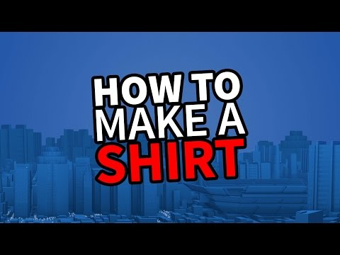 Roblox create and play tutorial how to make a shirt for How to make a shirt on roblox