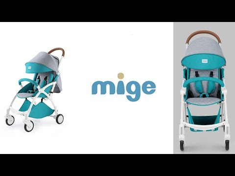 Mige Прогулочная Коляска (Комплектация, Отличия от KUB)