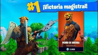 *NUEVA* Skin LEGENDARIA! Fortnite: Battle Royale (Perro De Guerra)