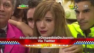 Jazmín le canta a su bebe y se despide de Acábatelo
