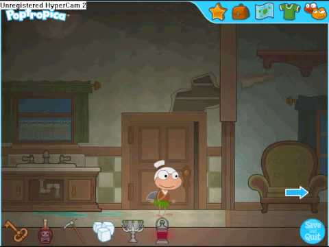 Poptropica Haunted House Walkthrough