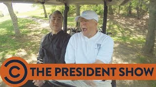 The President Presents A Masterclass In Negotiation - The President Show | Comedy Central