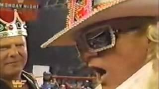 King's Court with the New WWF Intercontinental Champ Jeff Jarrett