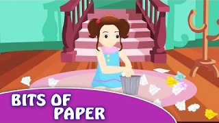 Bits of Paper   Nursery Rhymes Songs with Lyrics and Action   Nursery Rhymes for Kids in English