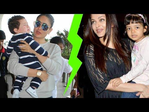 Aishwarya Rai Bachchan is better mom than Kareena Kapoor Khan ? Omg ! Major Fight