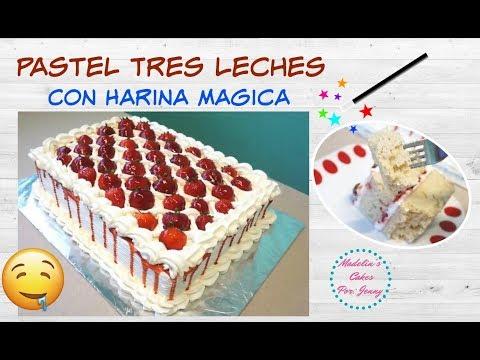 Pastel 3 Leches Con Harina Magica Receta Recomendada