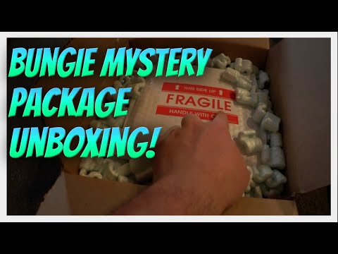 Destiny BUNGIE MYSTERY UNBOXING! (Live opening and I have no idea what's inside)