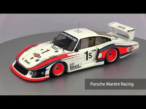 ck-modelcars-video: Porsche 935 78 #1 Martini  Racing Moby Dick Winner 6h Silverstone 1978 Spark