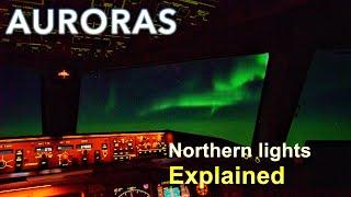 Aurora Borealis 2 From The Cockpit