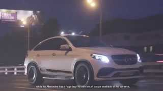 DT Test Drive — Mercedes AMG GLE 63 Coupe vs BMW X5 M