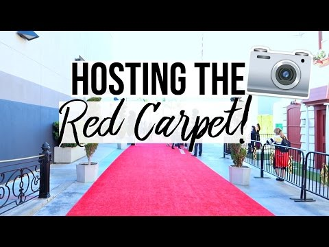 Behind The Scenes Hosting The Red Carpet + Travel To Canada!