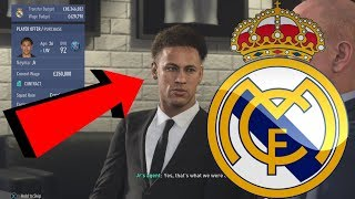 REAL MADRID FIFA 19 CAREER MODE #1 - REPLACING RONALDO WITH €200,000,000+ NEW TRANSFER!