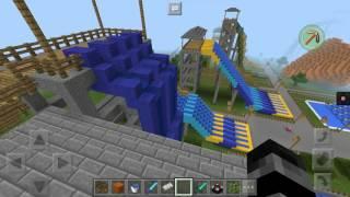 Minecraft Water park tour!!!