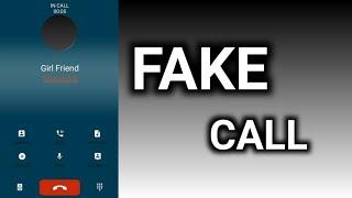 Fake Call App for Android    HINDI