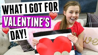 WHAT I GOT FOR VALENTINE'S DAY! VALENTINE AND GIFT HAUL!