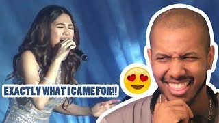 JULIE ANNE SAN JOSE -  THIS IS WHAT I CAME FOR / INTO YOU MEDLEY REACTION