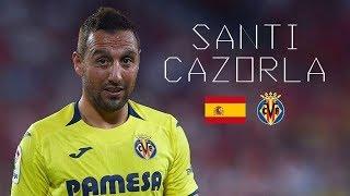 "SANTI CAZORLA - ""COMEBACK"" - Insane Skills, Goals, Passes, Tackles - Villarreal CF - 2018/2019"