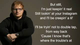 New man - Ed Sheeran (lyrics)