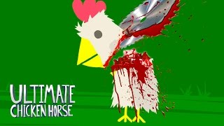 THE DANGER ZONE!!! Ultimate Chicken Horse - Funny Moments & FAILS