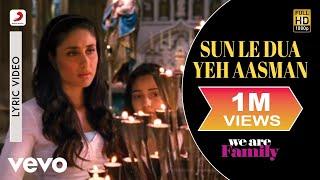 We Are Family - Sun Le Dua Yeh Aasman Lyric | Kareena, Kajol