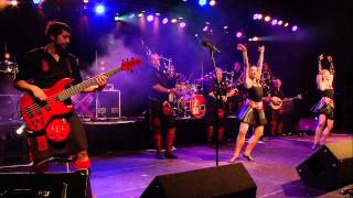 Red Hot Chilli Pipers - Everybody Dance Now LIVE