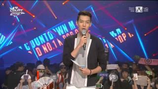 [22.08.2013] MC Mnet M! Countdown - Kim Woo Bin