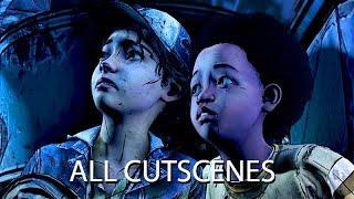 THE WALKING DEAD: Season 4 Full Episode 1 'Done Running' (Telltale Final Season) All Cutscenes