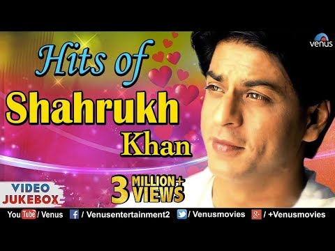 SHAHRUKH KHAN HITS : Best Romantic Hindi Songs | VIDEO JUKEBOX | Top Bollywood Songs