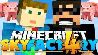 Minecraft: SkyFactory 4 - EATING AUTOMATICALLY!! [31]