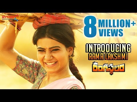 Xxx Mp4 Rangasthalam Latest Teaser Introducing Samantha As Rama Lakshmi Ram Charan Aadhi DSP 3gp Sex
