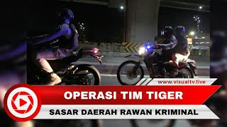 Operasi Rutin Tim Tiger, Seorang Pria Diamankan karena Membawa Tramadol