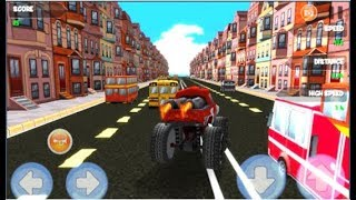 McQueen Lightning Racing / Race into the world / Racing Games / Android Gameplay Video