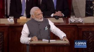 Indian Prime Minister Narendra Modi addresses Joint Meeting of Congress – FULL SPEECH (C-SPAN)