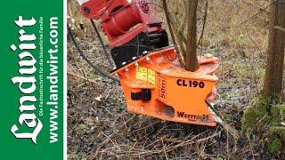 Fällgreifer: Woodcracker CL190 und C350 | landwirt.com