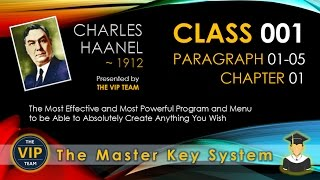 Class 001 - Paragraph 01-05 - Chapter 01 - Master Key System - THE VIP TEAM