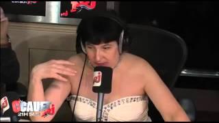 Françoise, demarelatrous humoriste actress funny in cauet show radio nrj