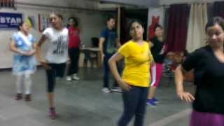 chikni chameli & favicol dance practice  -  by shubh kaur ghumman- rockstar academy chandigarh India