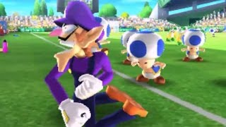 Mario Sports Superstars - All Character Goal Celebrations