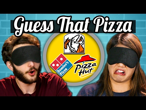 GUESS THAT PIZZA CHALLENGE Teens Vs. Food