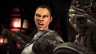 Mortal Kombat X ALL Fatalities On Alien Fatality Gameplay