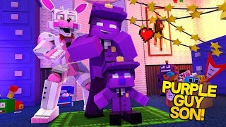 Minecraft Fnaf: Sister Location - Purple Guys Son (Minecraft Roleplay)